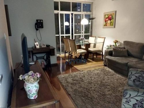 Apartamento Com 3 Dormitórios À Venda, 94 M² Por R$ 450.000,00 - Jardim Esplanada - São José Dos Campos/sp - Ap1926