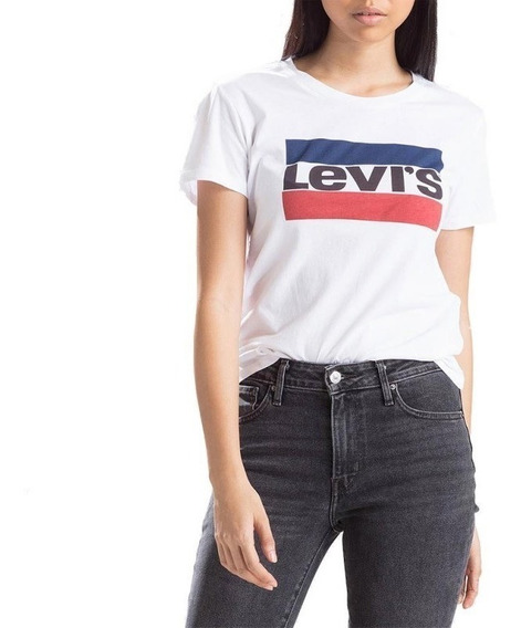Remera De Mujer Levis The Perfect Tee Sportswear