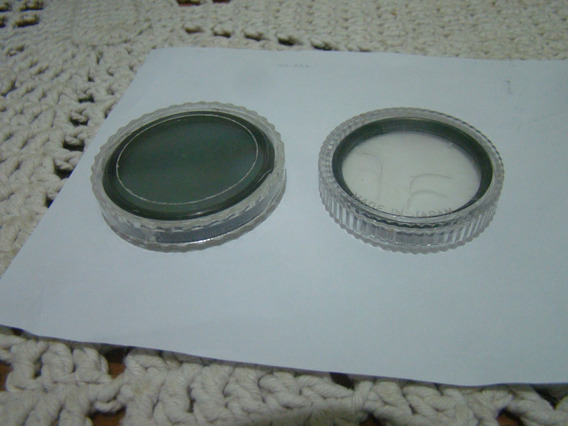 2 Filtros Para Lente Conf . Fotos E Descrição