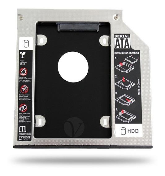 Case Gaveta Para Segundo Hd Ssd No Dvd 9,5mm Dell Asus Hp