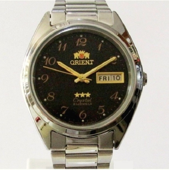 Relógio Orient Automático Masculino Mod. Médio Aço Promoção