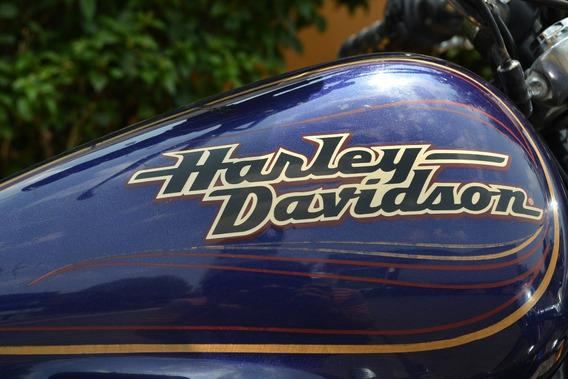 Llamativa Harley Dyna Wide Glide 1450 Lista Para Rodar
