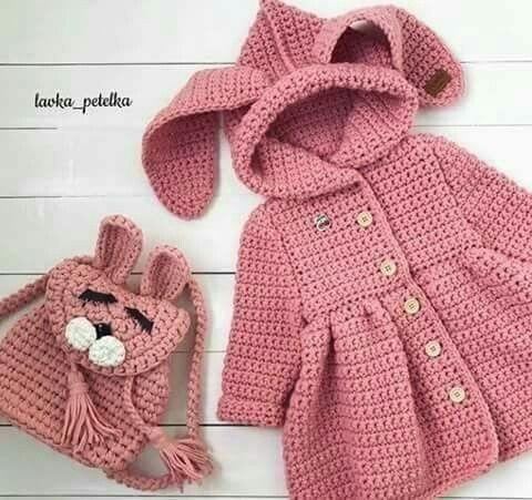 Tapado Crochet Nenes Talle 2 - 4