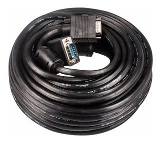 Cable Vga A Vga 10 Metros Macho Macho Proyector Monitor Lcd