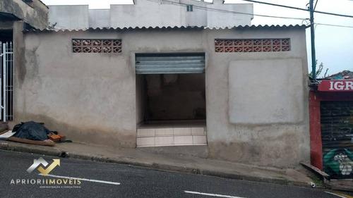 Salão Para Alugar, 17 M² Por R$ 900,00/mês - Vila Guarará - Santo André/sp - Sl0203
