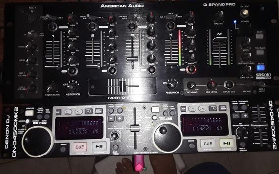 Denon Mk2 Y Mezclador America Audio