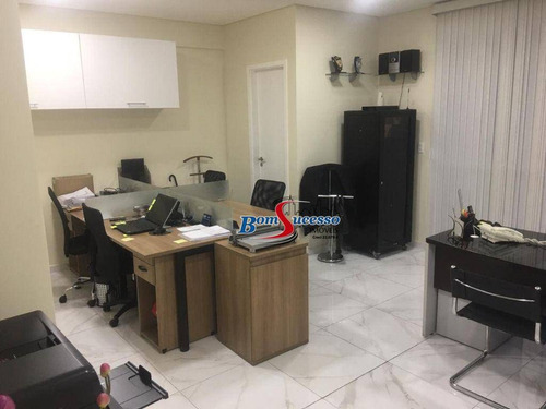 Sala À Venda, 42 M² Por R$ 530.000 - Tatuapé - São Paulo/sp - Sa0156
