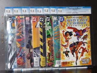 Comics Cgc Lote De 8 Comics