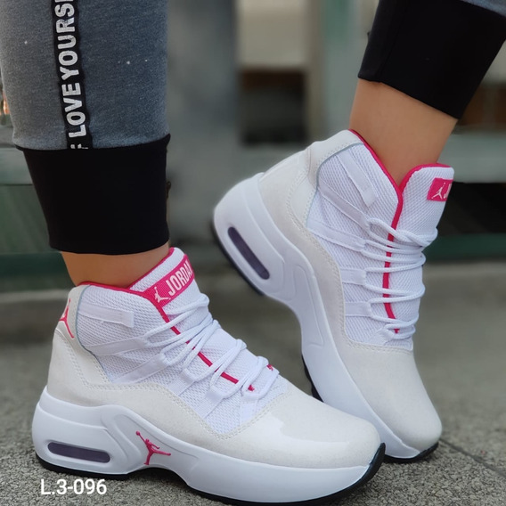 Calzado Zapatos Tenis Botas Jordán Para Dama Mujer Niña