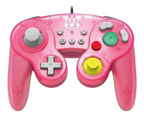 Controle joystick Hori  Battle Pad princess peach