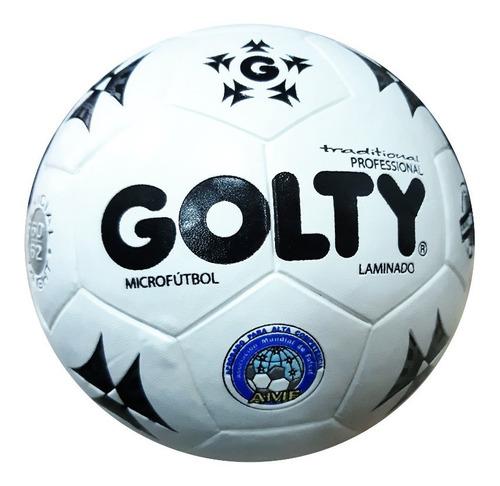 Balon Futbol Golty Tradicional Microfutbol #3 + Envio Gratis