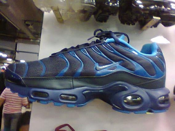 Tenis Nike Air Max Tn Premium Azul Nº38 A 43 Original