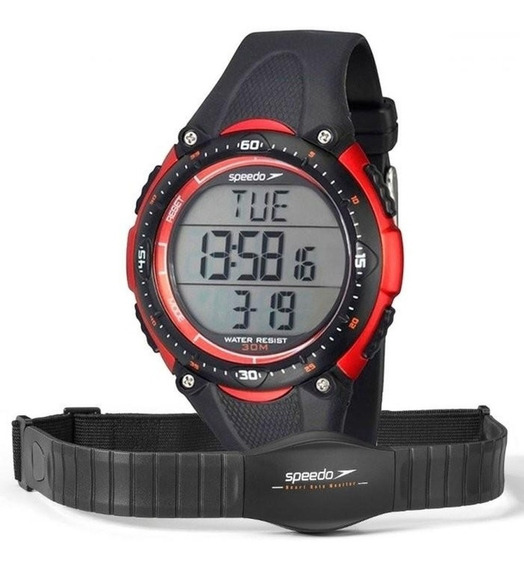 Relógio Monitor Cardíaco Speedo Masculino 80565g0epnp1