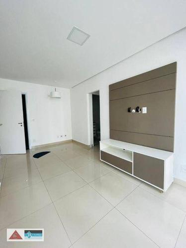 Apartamento Com 1 Dormitório Para Alugar, 40 M² Por R$ 2.200/mês - Jardim Anália Franco - São Paulo/sp - Ap6990