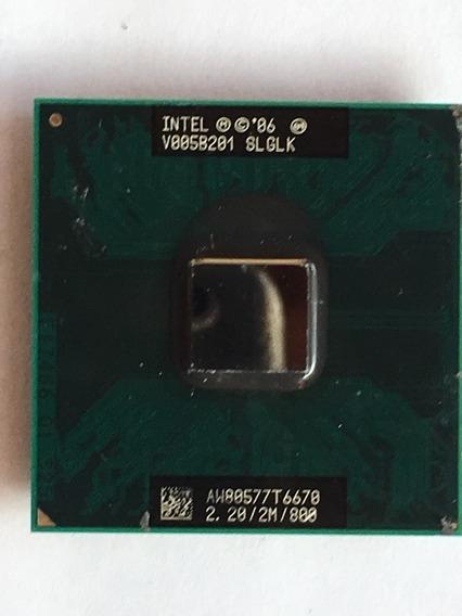 Processador Core2duo T6670 Para Notebook Dell Vostro 1310