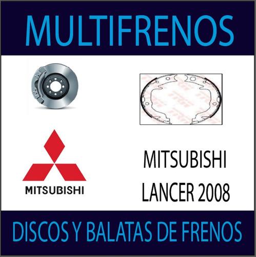 Pack Discos Y Balatas Mitsubishi Lancer 2009 D638 Fh886gtx
