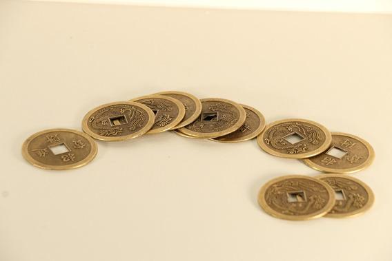 Monedas Chinas Feng Shui Abundancia Y Prosperidad X10 Uni