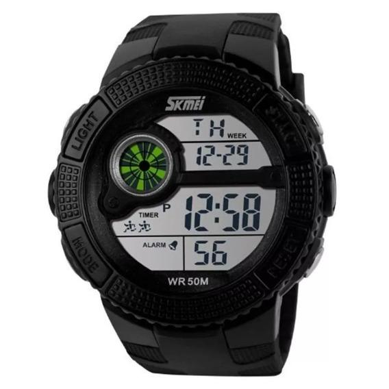 Relógio Masculino Digital Skmei Led Esportivo Prova D´água