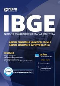Apostila Ibge 2019 - (acm) E (acs)