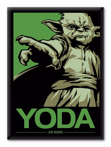Star Wars Yoda Jedi Master - Ima Decorativo - Bonellihq F19