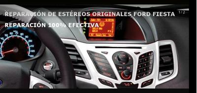 Reparación De Falla Stereo Ford Fiesta Kinetic. Desde 1976