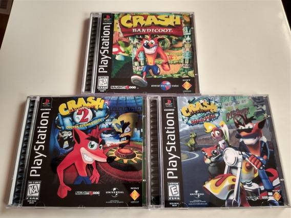 Crash Collection 1, 2 E 3 - Psone Patch Legendado Português