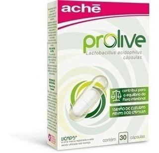 Prolive C/30 Cápsulas- Alimento Probiótico - Lactobacillus