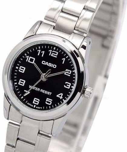 Relógio Feminino De Pulso Pequeno Casio V001d