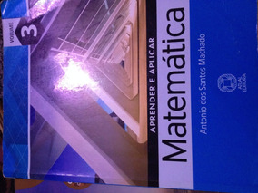 Livro Aprender E Aplicar Matemática, Volume 3