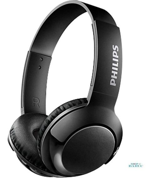 Fone De Ouvido Wireless Shb3075 Preto Philips 12x Sem Juros