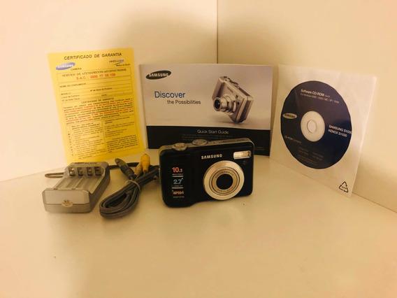 Camera Digital Samsung S1030 Preto
