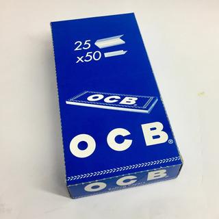 Papel Ocb Blue N1 25 X 50 Combustión Semi Rápida Local Once