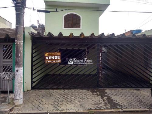 Imagem 1 de 15 de Sobrado Com 3 Dormitórios À Venda, 136 M² Por R$ 450.000,00 - Jardim Palmira - Guarulhos/sp - So0506