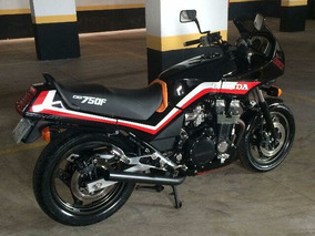 Honda Cbx 750 Black Japonesa 7 Galo