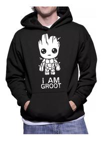 Moletom Agasalho Baby Groot Guardiões Da Galáxia Promoção