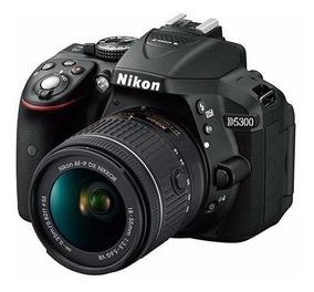 Câmera Nikon D5300 Lente 18-55mm Brindes Postam. Todo Pais #