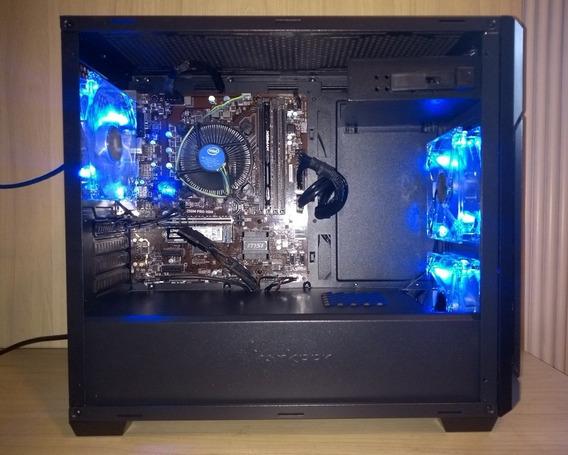 Desktop Msi B250m Pro-vdh I7-7700 16 Gb Ram 240 Gb Ssd 450 W
