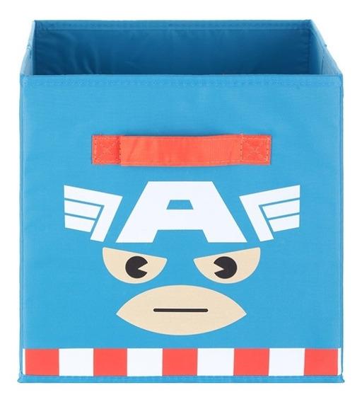 Caxa Organizadora Quadrada Marvel Miniso - Capitão América