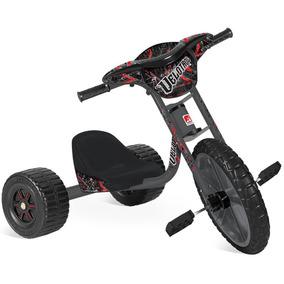 Triciclo Velotrol Infantil Masculino Carrinho Banderante 234