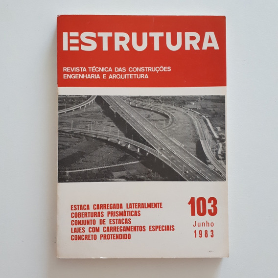Revista Estrutura 103 Jun 1983 Coberturas Prismáticas C2