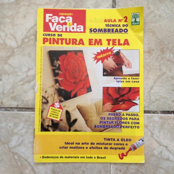 Revista Curso De Pintura Em Tela Aula 2 Técnica Do Sombreado
