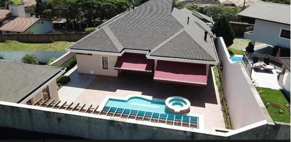 Linda Casa Em Condomínio Fechado Jd. Santa Rosa Com 530m De Area Construida Para Venda. (lm) - Ca0284