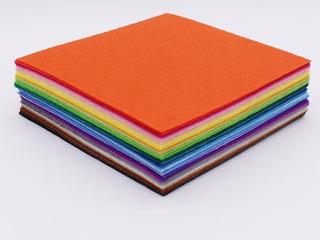 Tela Fieltro 40 Colores 20 × 20 1mm