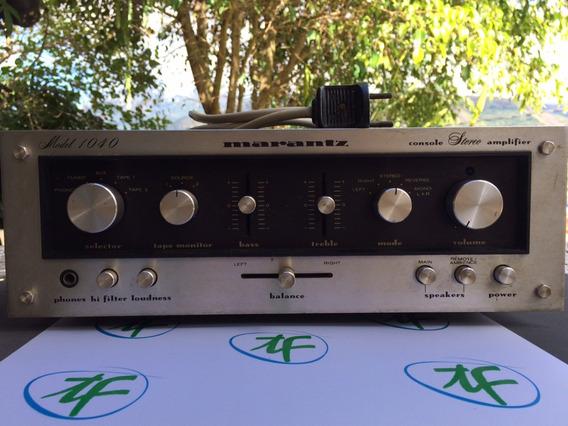 Amplificador Integrado Marantz Model 1040
