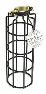 Estilo Clásico Industrial Jaula De Alambre Cilindro De Metal