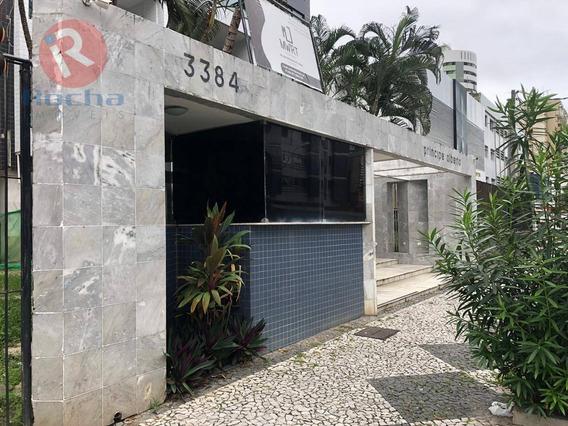 Apartamento Com 4 Dormitórios Para Alugar, 170 M² Por R$ 2.700/mês - Boa Viagem - Recife/pe - Ap10088