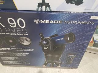 Telescopio Electrónico Meade Etx90
