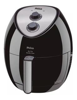 Fritadeira Eletrica Air Fry Philco Saude 1400w Sem Oleo 3,2l