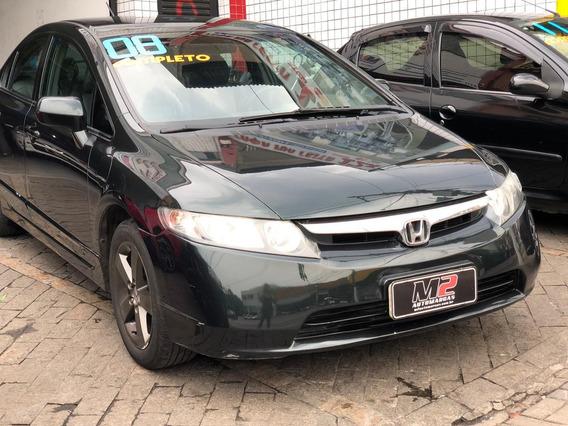 Honda Civic Lxs Aut Ano 2008