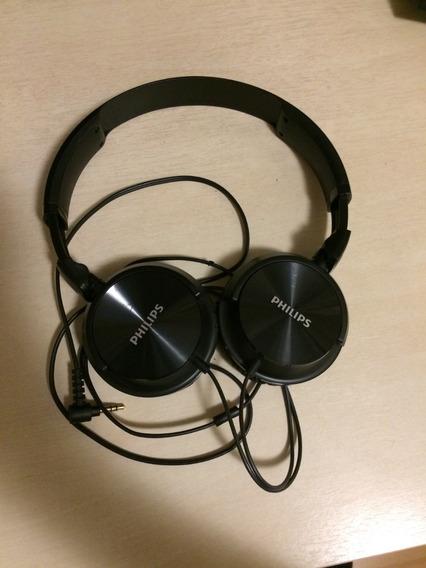 Headphone Fone Philips Shl3060bk/00 - Preto - Usado